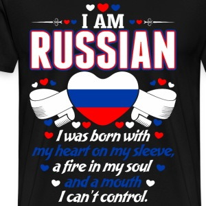 I Am Russian T-Shirts - Men's Premium T-Shirt