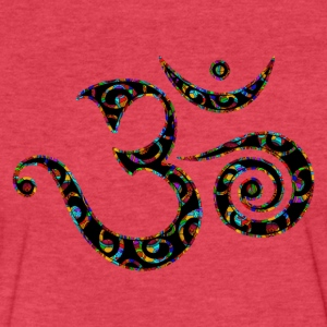 Om, Colors, Buddhism, Sound of Universe, T-Shirts - Fitted Cotton/Poly T-Shirt by Next Level