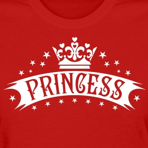 Princess Gold Crown luxury Birthday Women's T-Shir - Women's T-Shirt