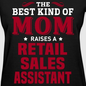 Retail Sales Assistant MOM - Women's T-Shirt