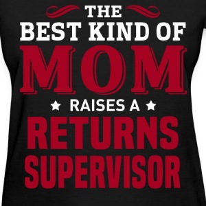 Returns Supervisor MOM - Women's T-Shirt