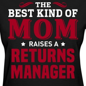 Returns Manager MOM - Women's T-Shirt