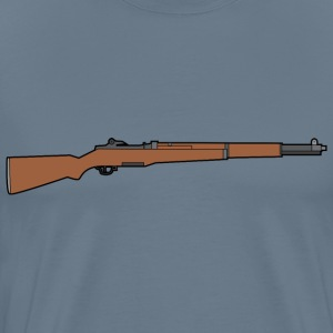 M1 Garand rifle - Men's Premium T-Shirt