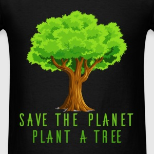 Planet - Save the planet, plant a tree - Men's T-Shirt