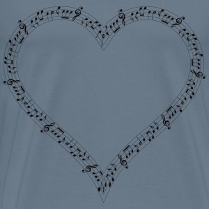 Musical Heart Mark II - Men's Premium T-Shirt