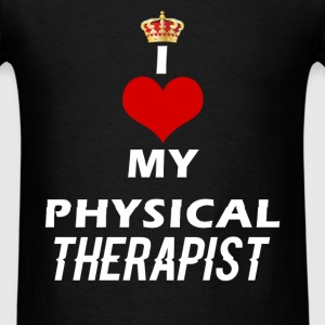 Physical Therapist - I Love my physical therapist - Men's T-Shirt