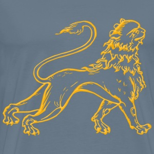 Stylised lion 2 - Men's Premium T-Shirt