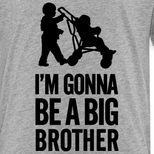 I'm gonna be a big brother baby car Baby & Toddler Shirts - Toddler Premium T-Shirt