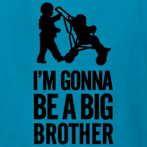 I'm gonna be a big brother baby car Kids' Shirts - Kids' T-Shirt