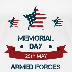Memorial Day - Armed Forces T-Shirts - Women's Premium T-Shirt