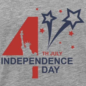 Happy Independence Day - 4th of July T-shirts - T-shirt premium pour hommes