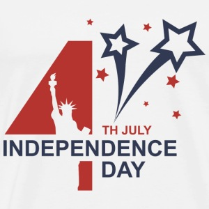 Happy Independence Day - 4th of July T-Shirts - Men's Premium T-Shirt