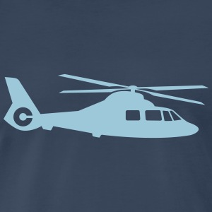 helicopter T-Shirts - Men's Premium T-Shirt