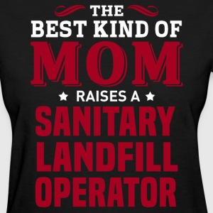 Sanitary Landfill Operator MOM - Women's T-Shirt