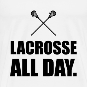 Lacrosse All Day - Men's Premium T-Shirt