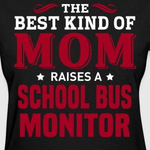 School Bus Monitor MOM - Women's T-Shirt