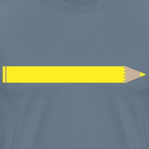 Yellow pencil - Men's Premium T-Shirt