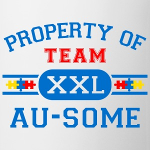 Property of Team Au-Some Mugs & Drinkware - Coffee/Tea Mug