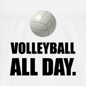 Volleyball All Day - Men's Premium T-Shirt