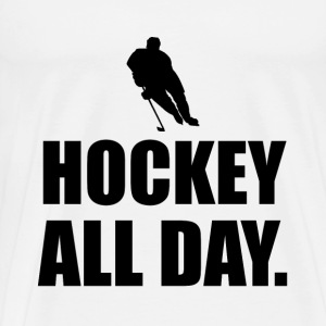 Hockey All Day - Men's Premium T-Shirt