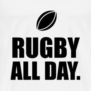 Rugby All Day - Men's Premium T-Shirt