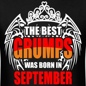 The Best Grumps was Born in September - Men's T-Shirt