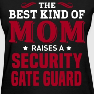 Security Gate Guard MOM - Women's T-Shirt