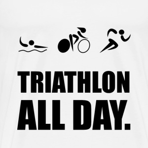 Triathlon All Day - Men's Premium T-Shirt