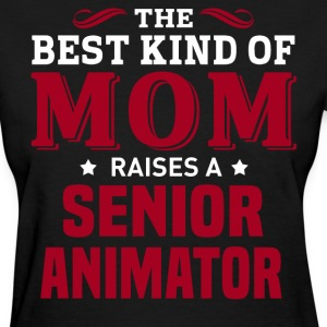 Senior Animator MOM - Women's T-Shirt