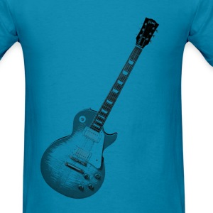 Guitar Tee Shirt Men's with lots of color choices - Men's T-Shirt