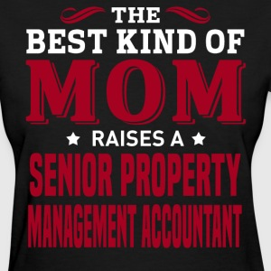 Senior Property Management Accountant MOM - Women's T-Shirt