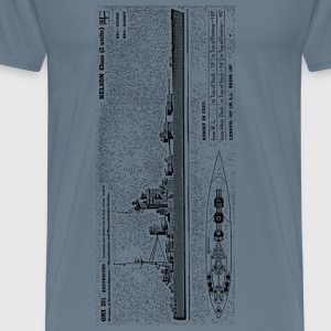 Rodney Battleship - Men's Premium T-Shirt