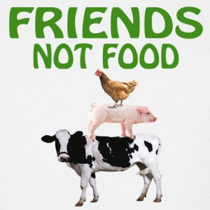 FRIENDS NOT FOOD - Men's Tall T-Shirt