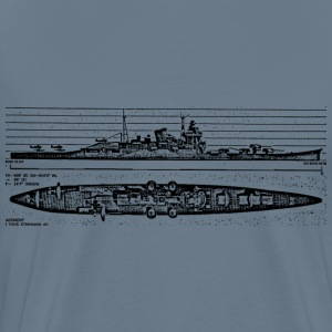 Tone Battleship - Men's Premium T-Shirt