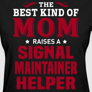 Signal Maintainer Helper MOM - Women's T-Shirt