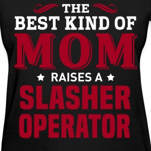 Slasher Operator MOM - Women's T-Shirt