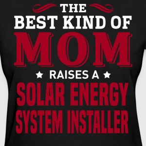 Solar Energy System Installer MOM - Women's T-Shirt