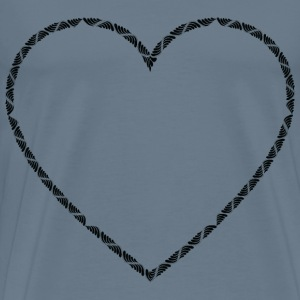 Trendy Heart - Men's Premium T-Shirt