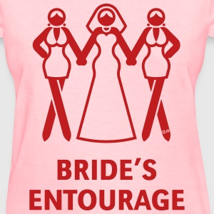 Bride's Ent. (Hen Night,Bachelorette Party) Shirt - Women's T-Shirt