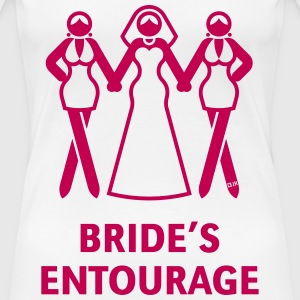 Bride's Ent. (Hen Night,Bachelorette Party) Shirt - Women's Premium T-Shirt