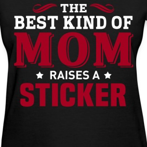 Sticker MOM - Women's T-Shirt