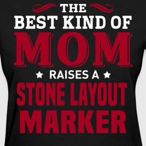 Stone Layout Marker MOM - Women's T-Shirt