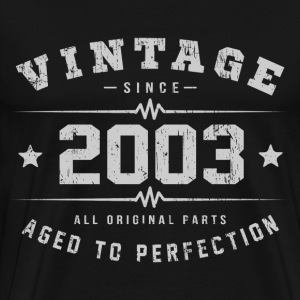 2003 Aged To Perfection T-Shirts - Men's Premium T-Shirt