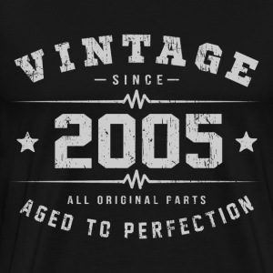 2005 Aged To Perfection T-Shirts - Men's Premium T-Shirt