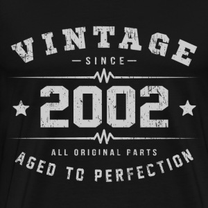 2002 Aged To Perfection T-Shirts - Men's Premium T-Shirt