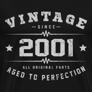2001 Aged To Perfection T-Shirts - Men's Premium T-Shirt
