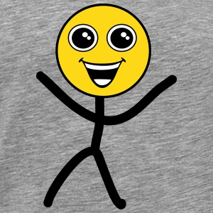 Happy smiley T-Shirts - Men's Premium T-Shirt