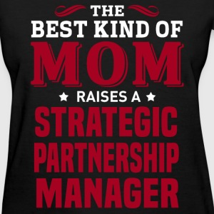 Strategic Partnership Manager MOM - Women's T-Shirt