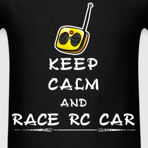 Rc cars - Keep calm and race RC Car - Men's T-Shirt