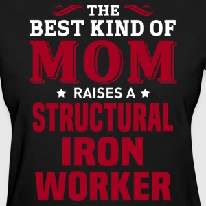 Structural Iron Worker MOM - Women's T-Shirt
